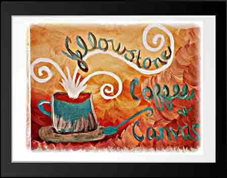 Yellowstone Coffee and Canvas